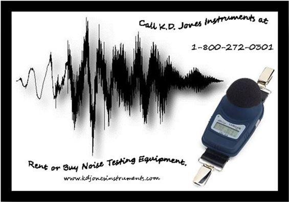 Rent or Buy Noise Testing Equipment
