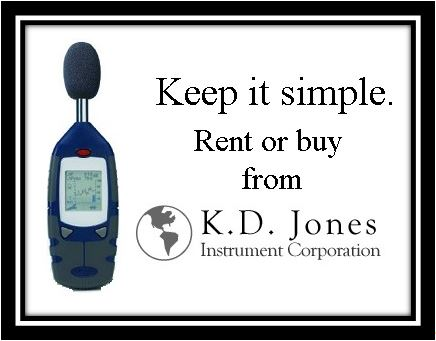 Rent or Buy Sound Meters